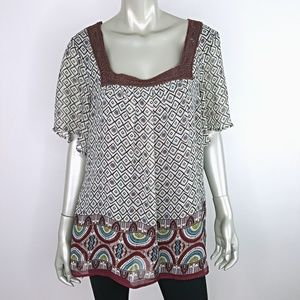 Maurices Womens Top Plus Size 1X